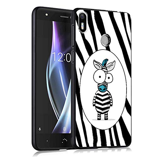 INSOLKIDON Compatible with BQ Aquaris X/Aquaris X Pro Case TPU Soft Back Cover Phone Protective Shell Scratch Resistant Bumper Cartoon Silica Gel Soft Shell Protective case (6)