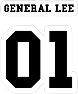 Big Lens store General Lee 01 Stickers (3 Pcs/Pack)