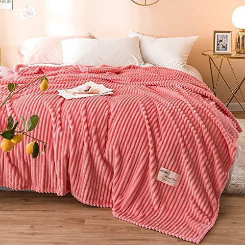 Epty Deken van flanel, zacht en comfortabel, geschikt voor slaapbank, airconditioning