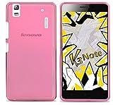 Tumundosmartphone Funda Gel TPU para Lenovo K3 Note Color Rosa