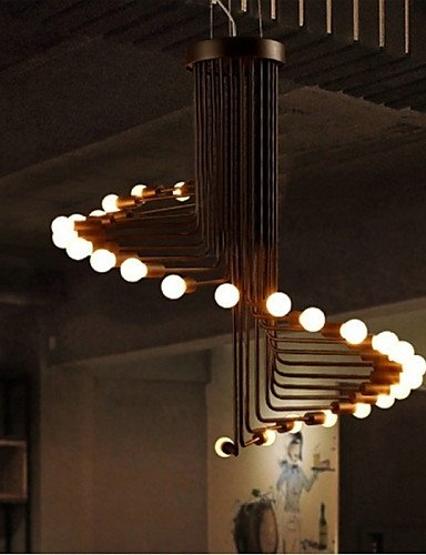 Modern LED Ceiling lamp20 Country Bulb Included Painting Metal Chandeliers Living Room / Bedroom / Dining Room / Entry , 110-120v