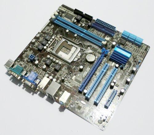 Asus P7H55-M LE/SI Sockel 1156 Mainboard P7H55 M LE SI H55 DDR3 mATX HDMI 12x USB / 6x SATA / 1x IDE / 1x COM