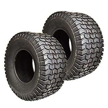 Two New 20x10.00-10 Lawn Tractor Tires 20x1000-10 Turf Tires Tubeless Lawn Mower Tires