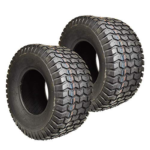 Two New 23x8.50-12 Lawn Tractor Tires 23x8.50-12 Turf Tires Tubeless Lawn Mower Tires