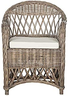 Safavieh Home Collection Inez Natural Wicker Club Chair