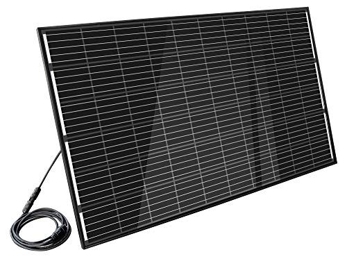 "Home-Solar-Modul 320Wp\""Full Black\"" (HSM320Wp + ohne Gestell + Anschlusskabel\""Schuko\"" 10m)"