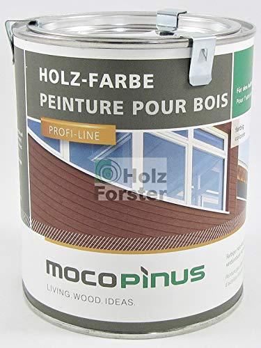 Mocopinus Lignucolor Holzfarbe F-RAL 6009 Tannengrün, 0,75 Liter