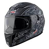 LS2 Stream Anti-Hero Full Face Motorcycle Helmet with Sunshield...