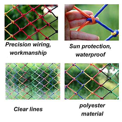 Find Discount LYRFHW Decorative Nets Protection Net Retro Bar Ceiling Net Stair Shatter-Resistant Ne...