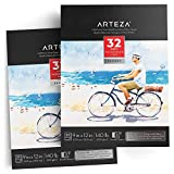 ARTEZA 9x12 Expert Watercolor Pad