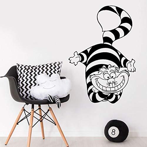 yaonuli Cartoon animatie kat vinyl muursticker kinderen slaapkamer decoratie muurschildering