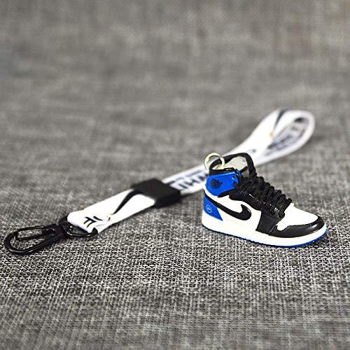 JSLW AJ Sportschuhe Modell kreative Trendige männliche kleine Gänseblümchen Schlüsselbund weibliche niedliche Auto Schuhe Schmuck Tasche Anhänger D