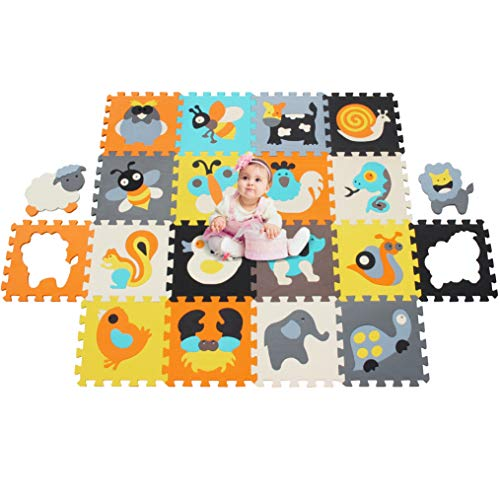 MU SHEN Alfombra Puzzle Bebe Suelo Goma Eva   Alfombra Infantil Puzzle