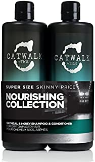 Tigi Catwalk Oatmeal & Honey Shampoo and Conditioner 25.36 Oz Tween by Tigi by Catwalk By Tigi