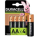 Duracell Piles Rechargeables AA 2500 mAh idéales...