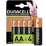 Die Duracell Rechargeable AA 2500mAh Batterien sind die Nr 1 unter unseren langlebigsten Akkus pro Aufladung (für Akkus der AA Größe, pro Aufladung in demselben Gerät) Duracell Rechargeable AA 2500mAh Batterien bleiben in ungenutzem Zustand für eine ...