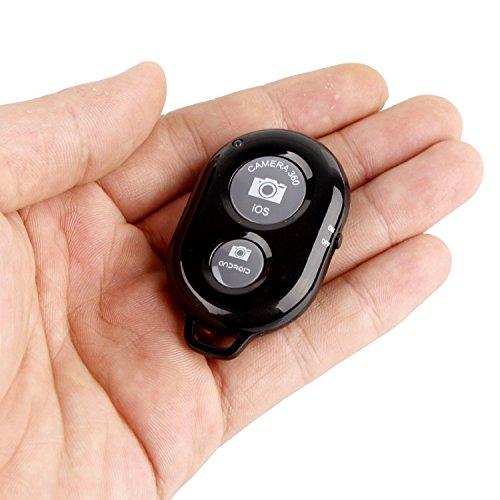 GOCOUPスマートフォン用カメラリモコンA-BシャッターBluetoothリモートforiPhone&Android日本語説明書付き(黒)