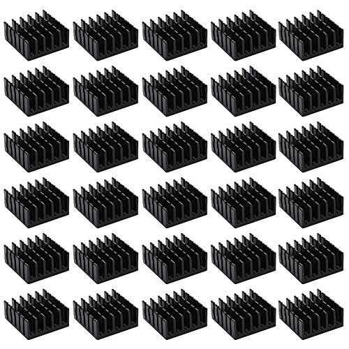 Dissipatore di calore in alluminio per transistor di potenza chip IC DISSIPATORE DI CALORE RADIATORE COOLER FIN