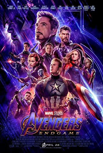 Marvel: The Avengers Endgame Movie Poster 24x36 inches This is