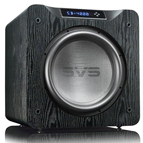 SVS SB-4000 13.5' 1200W Sealed Box Subwoofer (Premium Black Ash)