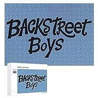 Backstreet Boy 3 300ピースのパズル木製パズル大人の贈り物子供の誕生日プレゼント
