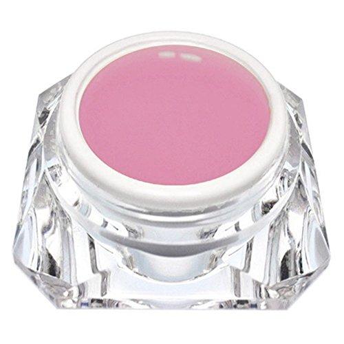 KM-Nails 15ml Aufbaugel natur rosa Babyboomer Gel Thixotrope Eigenschaften