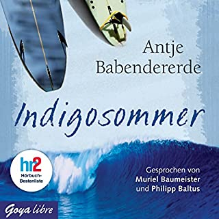 Indigosommer                   Autor:                                                                                                                                 Antje Babendererde                               Sprecher:                                                                                                                                 Muriel Baumeister,                                                                                        Philipp Baltus                      Spieldauer: 4 Std. und 23 Min.     40 Bewertungen     Gesamt 4,5