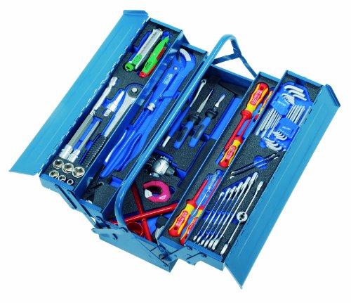 Heyco/Heytec 50807764600 Sanitärwerkzeugsatz mit 6 Modulen 75-teilig 508077-646