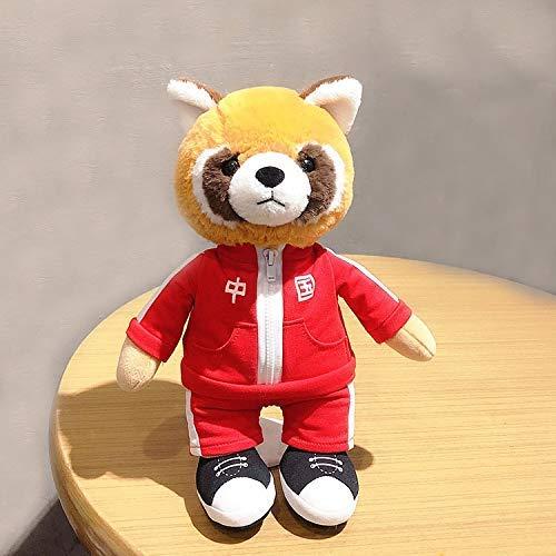 DINGX Muñeca de peluche, diseño de panda de dibujos animados, muy suave, para decoración de Navidad, regalo de cumpleaños de 28 cm (color: panda, tamaño: 28 cm) chuangze (color: panda, tamaño: 35 cm)