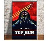 Misszhang Top Gun Film Tom Cruise Film Comic Poster Und