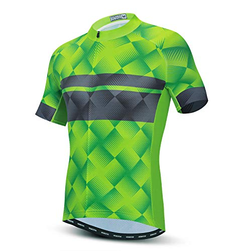 Herren-Fahrradtrikot, kurzärmlig, Oberteil, Größen S-XXXL, Lycra-Bündchen - - For Your Chest 40-42.5