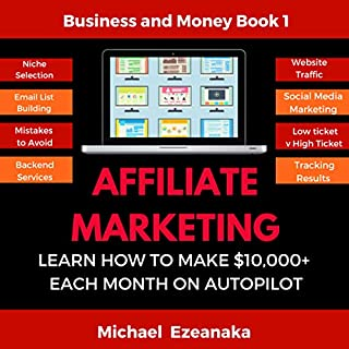 Affiliate Marketing audiobook cover art