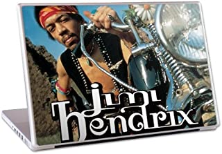 MusicSkins Jimi Hendrix South Saturn Delta Skin for 13 inch MacBook, MacBook Pro, MacBook Air and PC Laptop