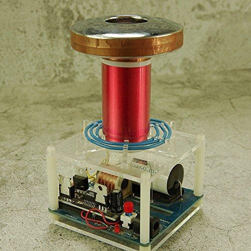 HandsMagic Micro Tesla Spule Tesla Coil SGTC Funkenstrecke Tesla Spule DIY Kits Wissenschaft Physik Spielzeug