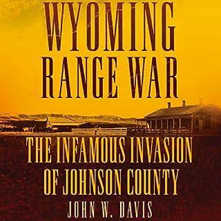 Wyoming Range War audiobook cover art