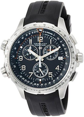 Hamilton - HAMILTON Khaki Aviation X-Wind-Chrono-Quartz-GMT H77912335 - H77912335