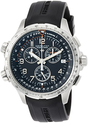 Hamilton - HAMILTON Khaki Aviation X-Wind-Chrono-Quartz-GMT H77912335 - H77912335