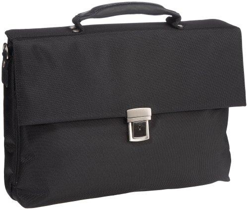 Leonhard Heyden IQ Briefcase, Bagage homme - Noir-V.6