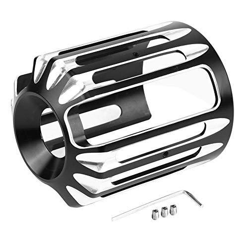 Duokon CNC Aluminio Motocicleta Cubierta del filtro de aceite para Harley Sportster XL 883 Dyna Softail Touring Unive