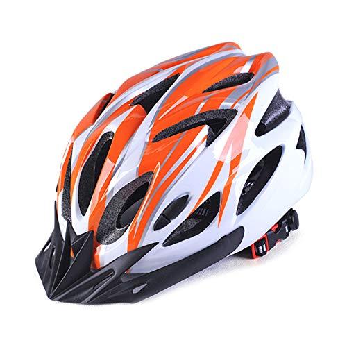 Abimy Casco de bicicleta para adultos, bicicleta de montaña, moldeo integral para...