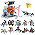 iHaHa Solar Robot Kit with Plier, 12 in 1 STEM Science Kit Toys for Kids, Learning Building Educational Science Gifts Toys for 8 9 10 11 12 + Year Old Boys Kids Students Teens