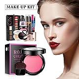 certainoly 9 Piezas de Maquillaje Set Beauty Vanity Case Organizer Eyeshadow Delights Love Urban Beauty Teenage Carry Set para Mujeres