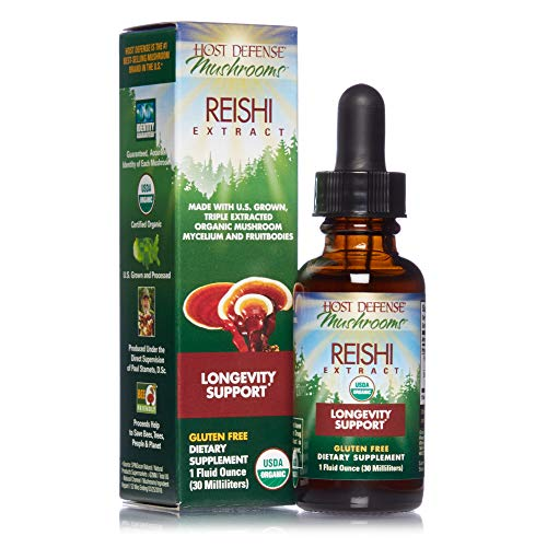 Host Defense, Reishi Extract, Supports General Wellness and Vitality,...
