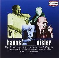アイスラー:小交響曲/5つの管弦楽団弦楽のための小品/組曲「嵐」/室内交響曲 ORCHESTERWERKE