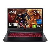 Acer Nitro 5 AN517-54-77KG Gaming Laptop | Intel Core i7-11800H | NVIDIA GeForce RTX 3050Ti Laptop GPU | 17.3' FHD 144Hz IPS Display | 16GB DDR4 | 1TB NVMe SSD | Killer Wi-Fi 6 | Backlit Keyboard