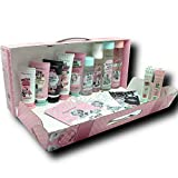 Petite Maison Retro Skin Care Spa Gift Baskets for Women, Her, Mom, Aunt, Sister, Friend or Yourself 14 pcs - Best Gift Basket/Box for Women's Christmas, Valentine, Birthday