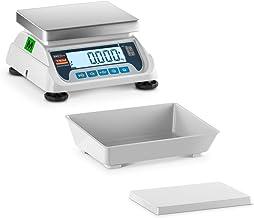 TEM Balance De Table Cuisine Alimentaire Culinaire Ménage Industrielle Professionnelle TEKO+LCD06C-B1 (Calibrée, 20 g à 6 ...