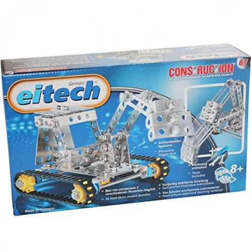Eitech 87 Kettenfahrzeuge Baukasten Construction Lernspielzeug Bagger Bauen Werkzeug