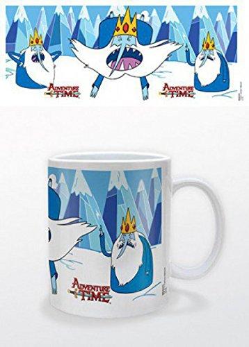 1art1 Adventure Time - Abenteuerzeit, Der Eiskönig Foto-Tasse Kaffeetasse 9 x 8 cm