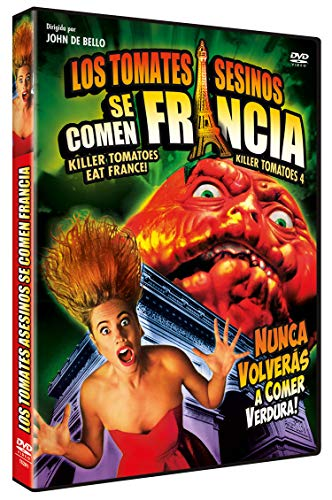 Los Tomates Asesinos se Comen Francia DVD 1991 Killer Tomatoes Eat France!